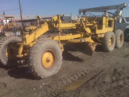 Caterpillar 12 Motor Grader 70D « Hanna Equipment